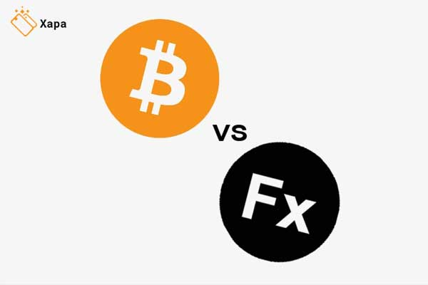 Cryptocurrency vs Forex