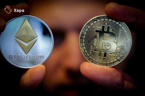 Technology battle between Ethereum or Bitcoin
